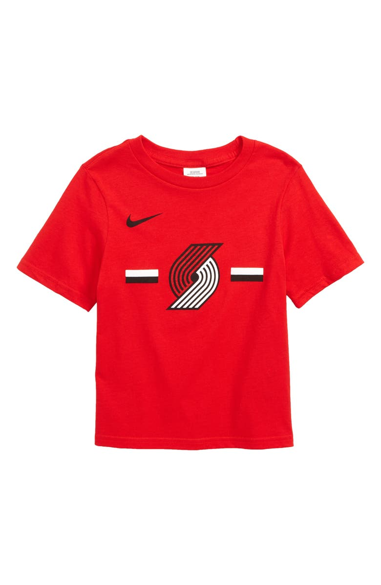 best website d62f4 b7ba7 Nike Portland Trail Blazers Dri-FIT T-Shirt (Toddler Boys ...