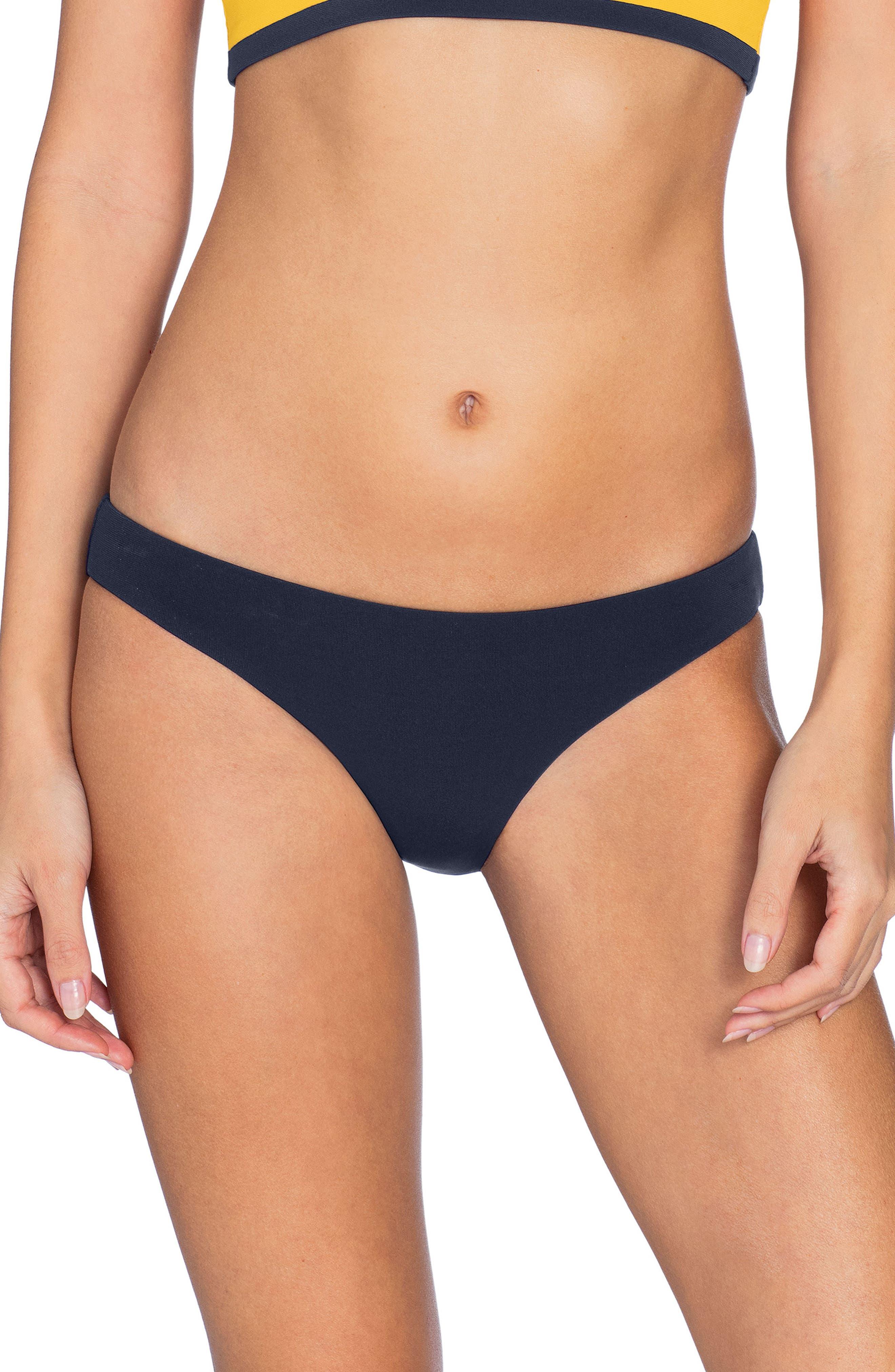 Robin Piccone Ava Bikini Bottoms, Blue