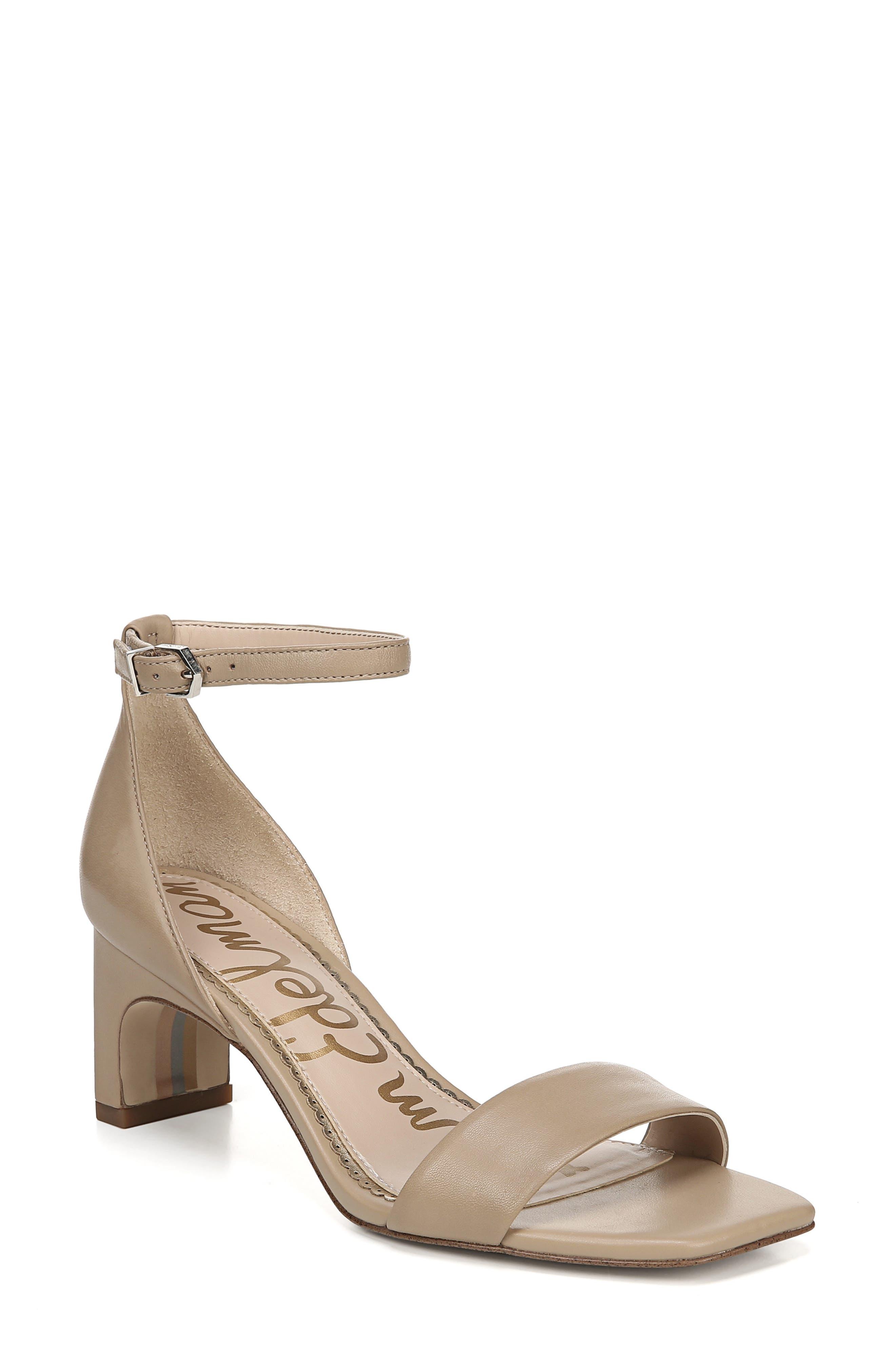 Sam Edelman Holmes Ankle Strap Sandal- Beige