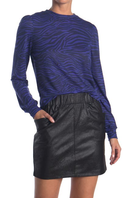 Image of David Lerner Veronica Puff Sleeve Pullover