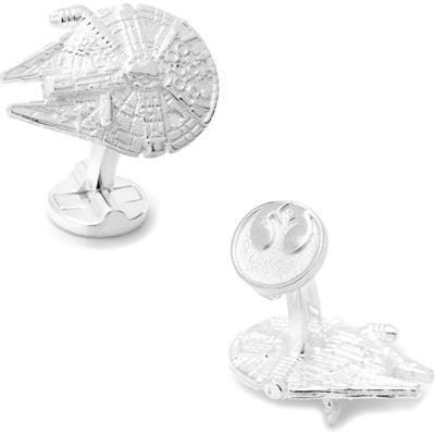 Cufflinks, Inc. Star Wars(TM) Millennium Falcon Cuff Links