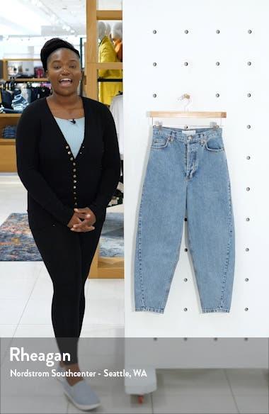 Ovoid Crop Moto Jeans, sales video thumbnail