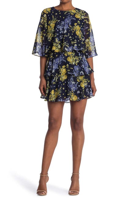 Image of Taylor Floral Tiered Mini Dress