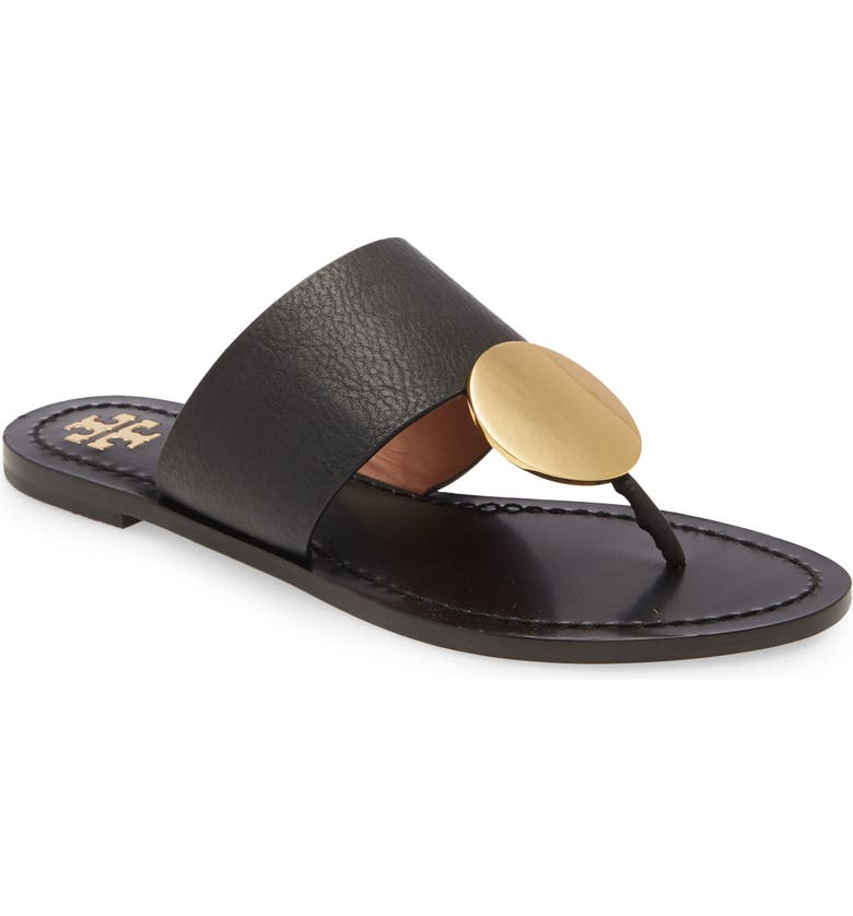 TORY BURCH Patos Sandal, Main, color, PERFECT BLACK