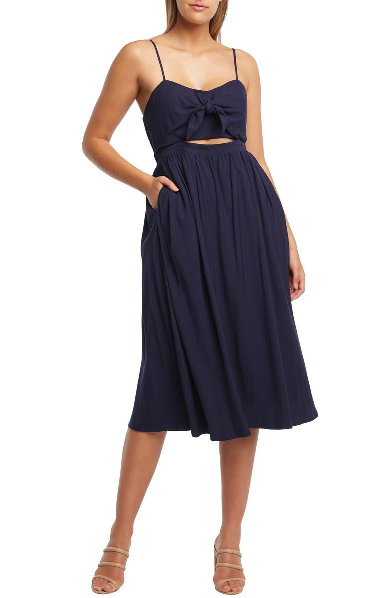 BARDOT Ibiza Dress, Main, color, 401
