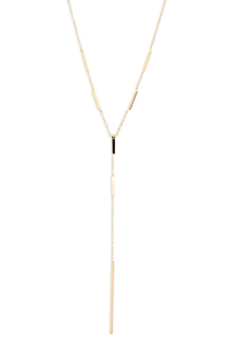 KNOTTY Bar Y-Necklace, Main, color, GOLD