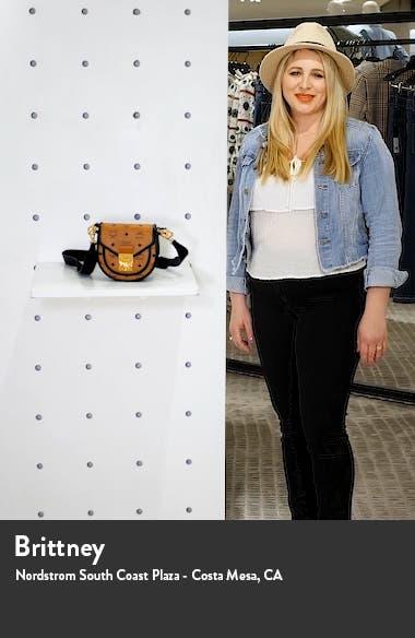 Patricia Visetos Coated Canvas Crossbody Bag, sales video thumbnail