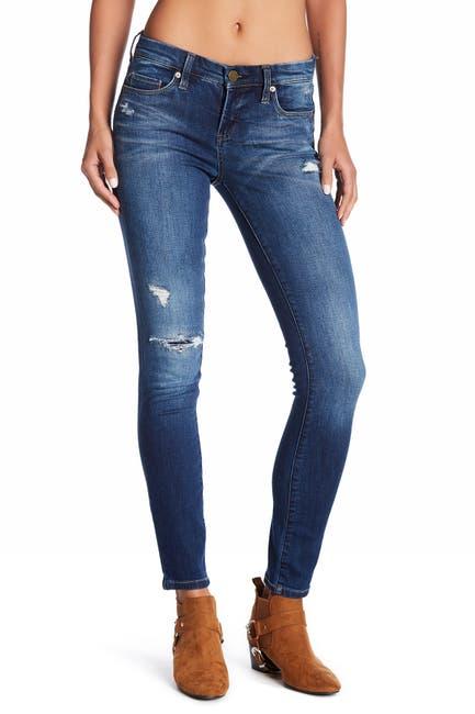 Image of BLANKNYC Denim Hotel Distressed Skinny Jeans