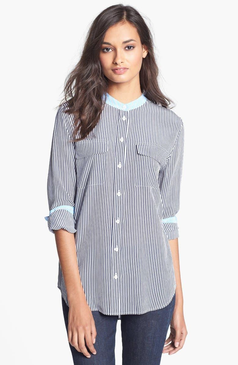 EQUIPMENT 'Slim Signature' Silk Shirt, Main, color, 403