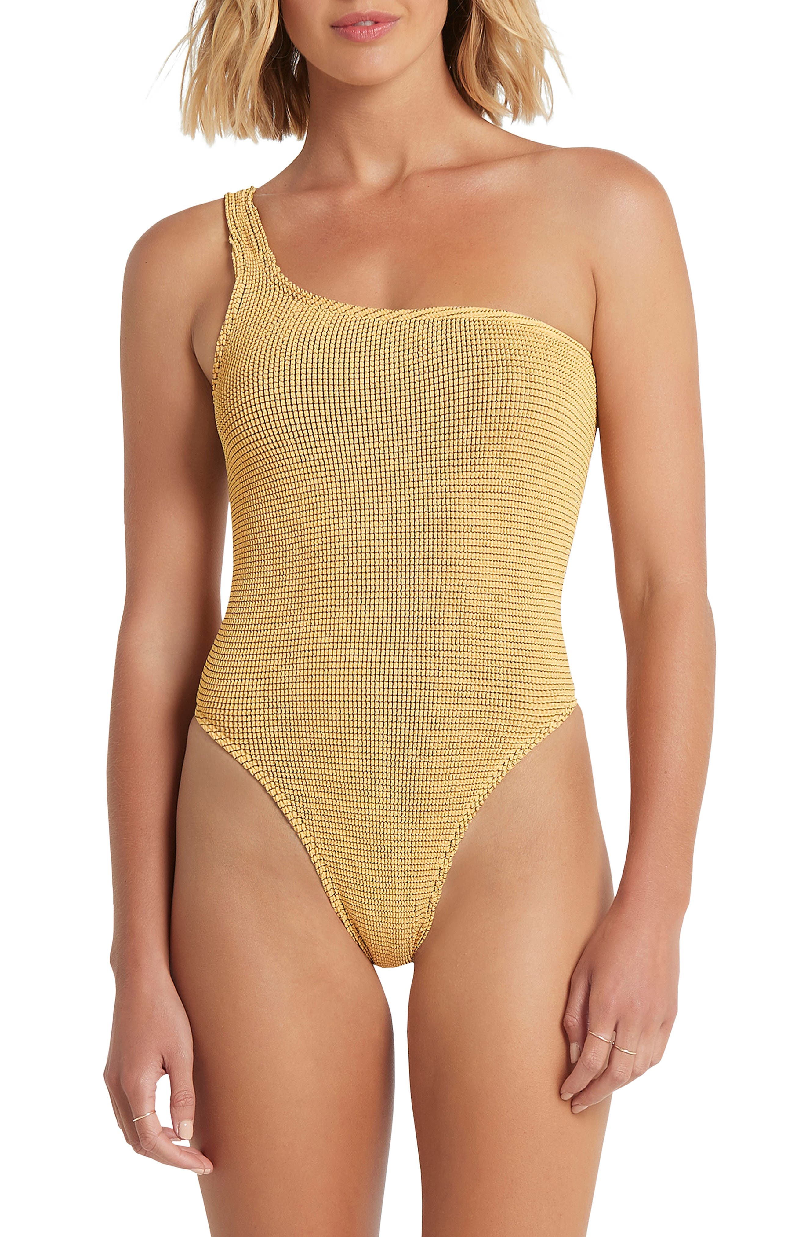 The Oscar One-Shoulder One-Piece Swimsuit