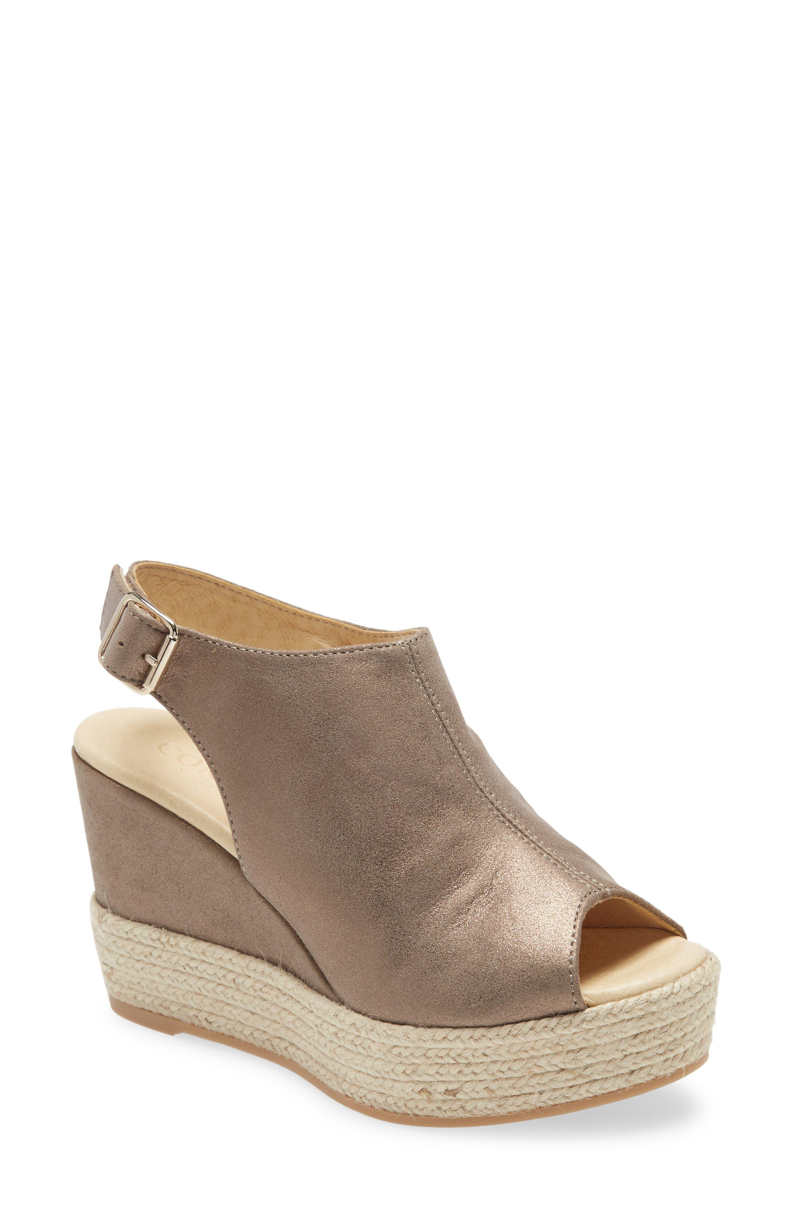 Elvine Peep Toe Platform Sandal