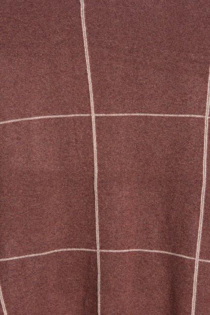 Image of Naked Cashmere Sasha Windowpane Print Cashmere Scarf