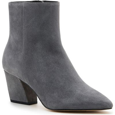 Botkier Sasha Genuine Calf Hair Bootie- Grey