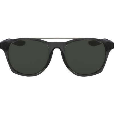 Nike Current 51Mm Sunglasses - Anthracite/ Gunmetal/ Green