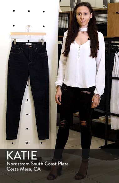 Curvy High Waist Skinny Jeans, sales video thumbnail