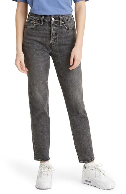 Levi's WEDGIE ICON FIT HIGH WAIST ANKLE STRAIGHT LEG JEANS