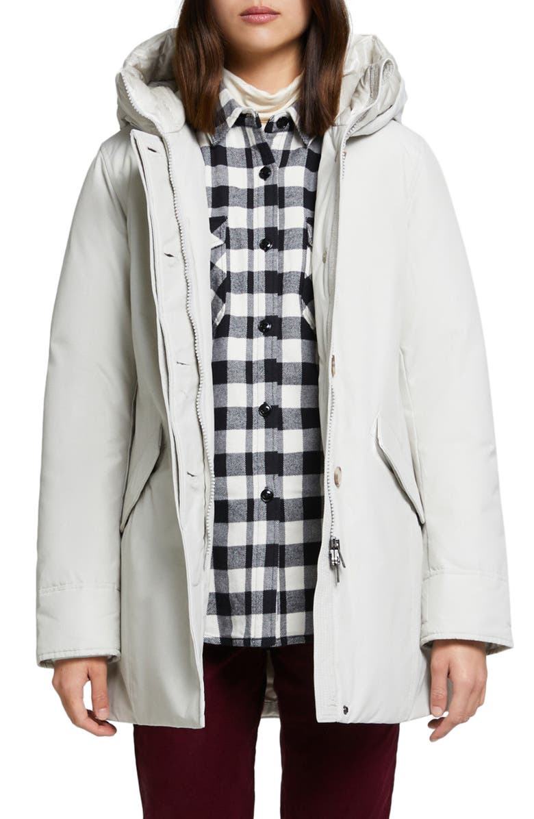 WOOLRICH Arctic Hooded Down Parka, Main, color, 155
