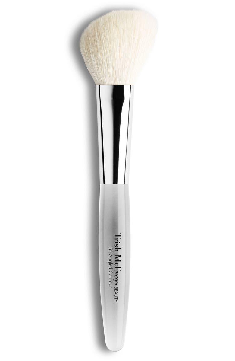 TRISH MCEVOY #65 Angled Contour Brush, Main, color, NO COLOR