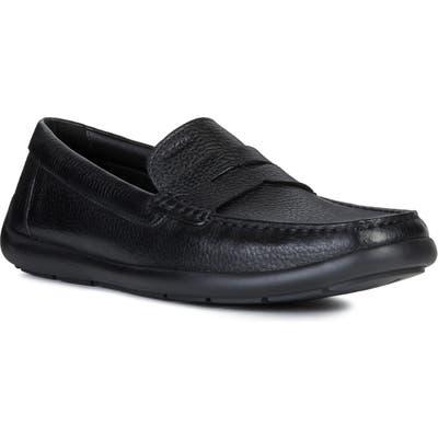 Geox Devan 2 Driving Shoe, Black