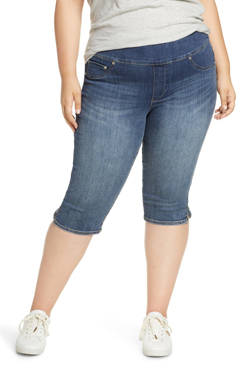 SEVEN7 Pull-On Capri Jeans, Main, color, 457