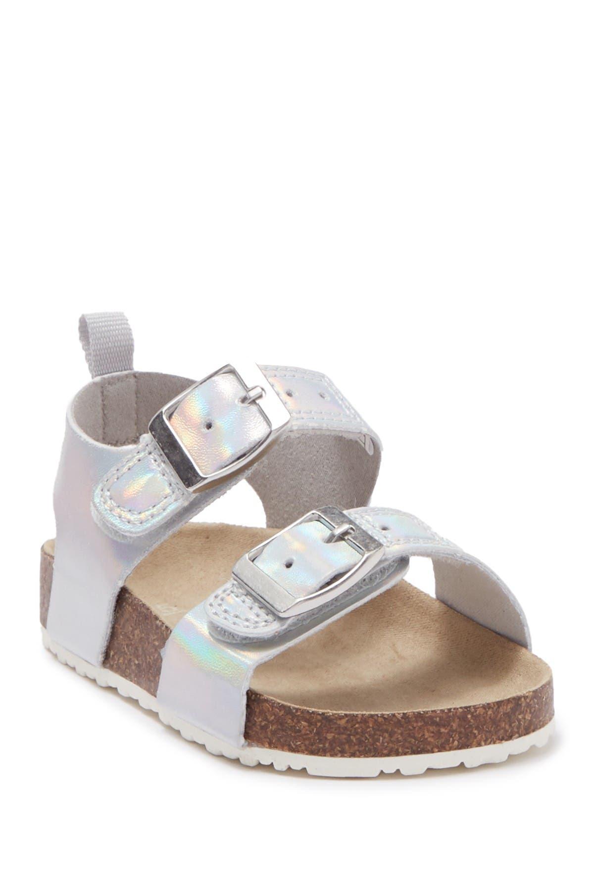 Kid/'s Carter/'s DUNCAN Rose Gold Buckle Strap Sandal Shoes