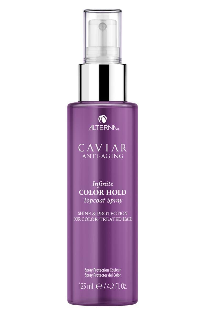 ALTERNA<SUP>®</SUP> Caviar Anti-Aging Infinite Color Hold Topcoat Spray, Main, color, NO COLOR