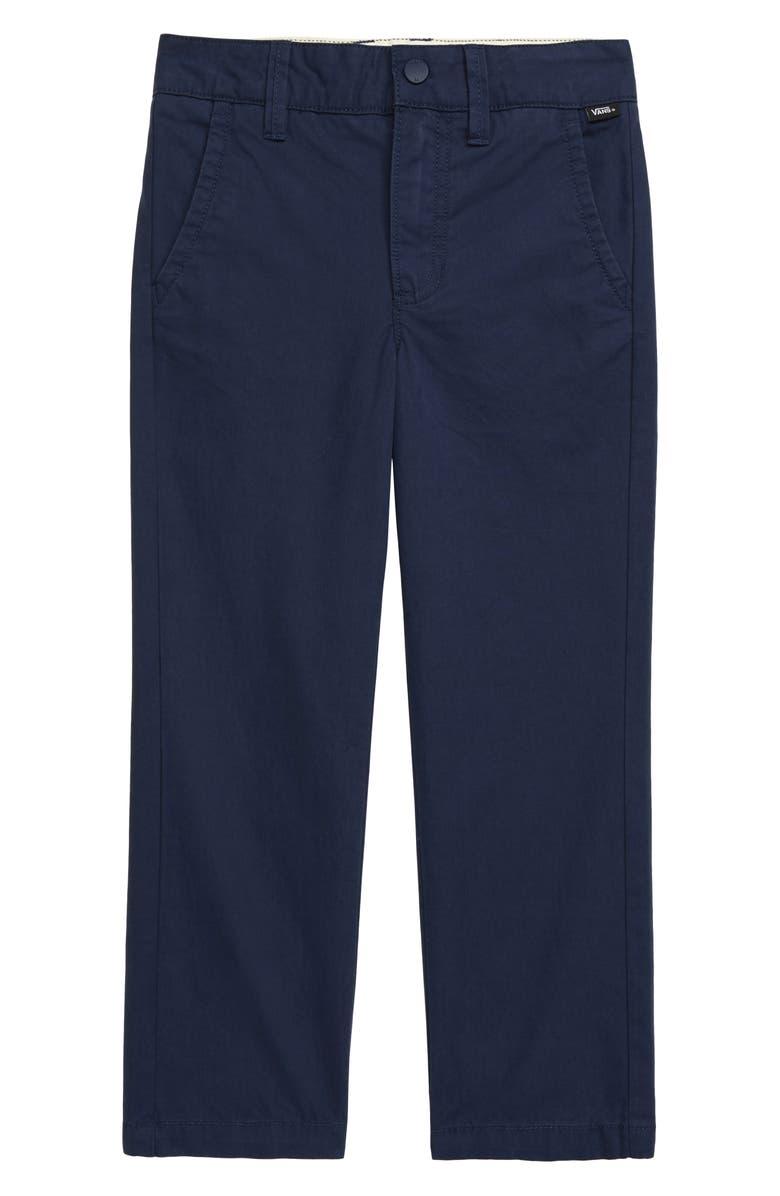 VANS Authentic Chino Pants, Main, color, DRESS BLUES