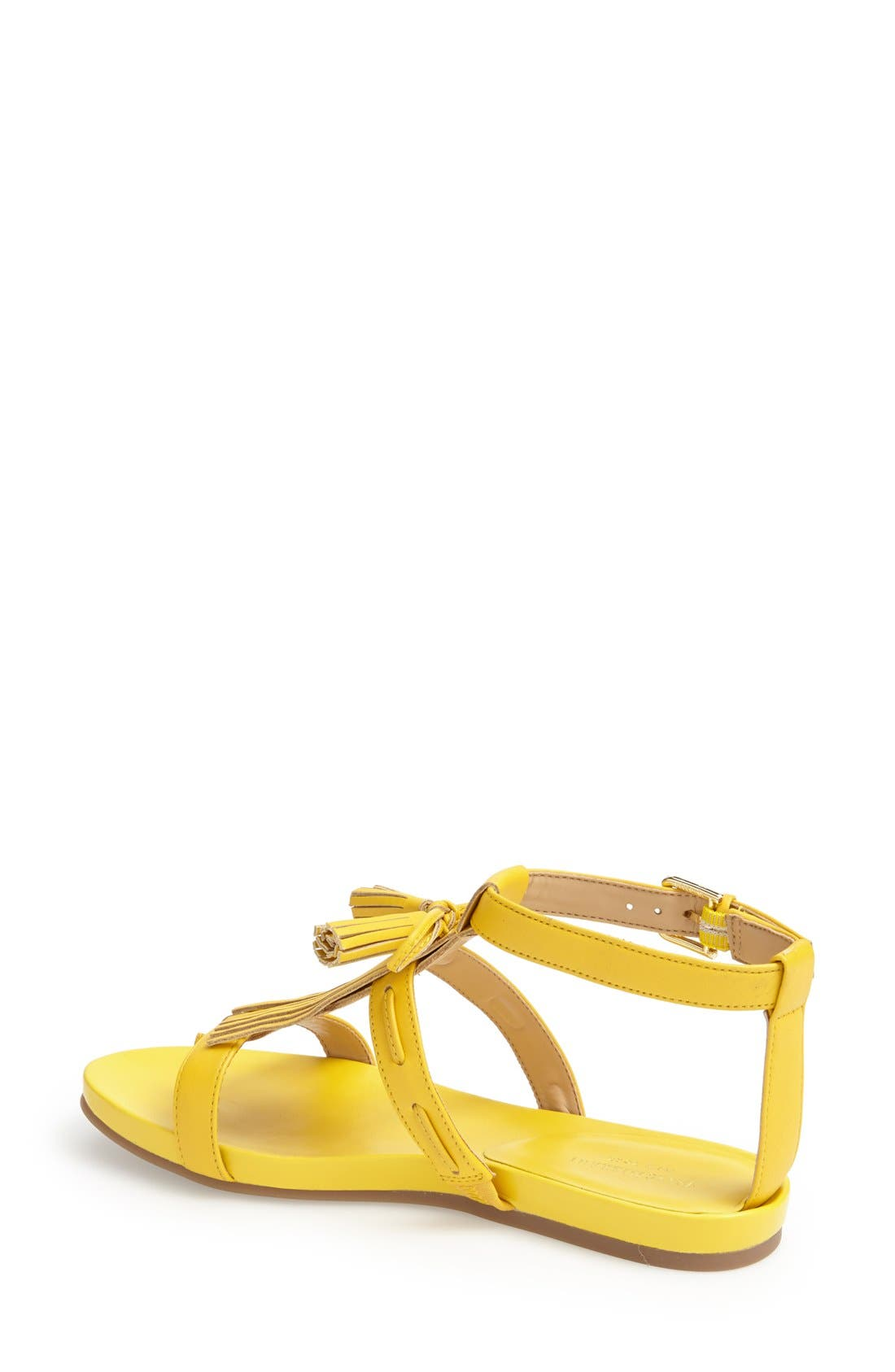 ,                             'Primp' Leather Fringe Sandal,                             Alternate thumbnail 15, color,                             720
