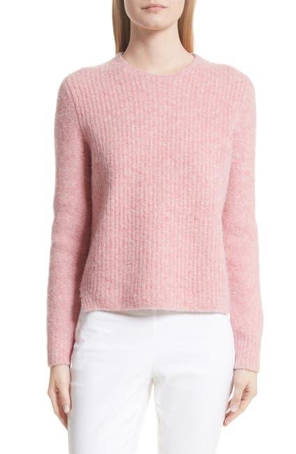 Image of Rag & Bone Francie Wool Blend Suede Patch Sweater