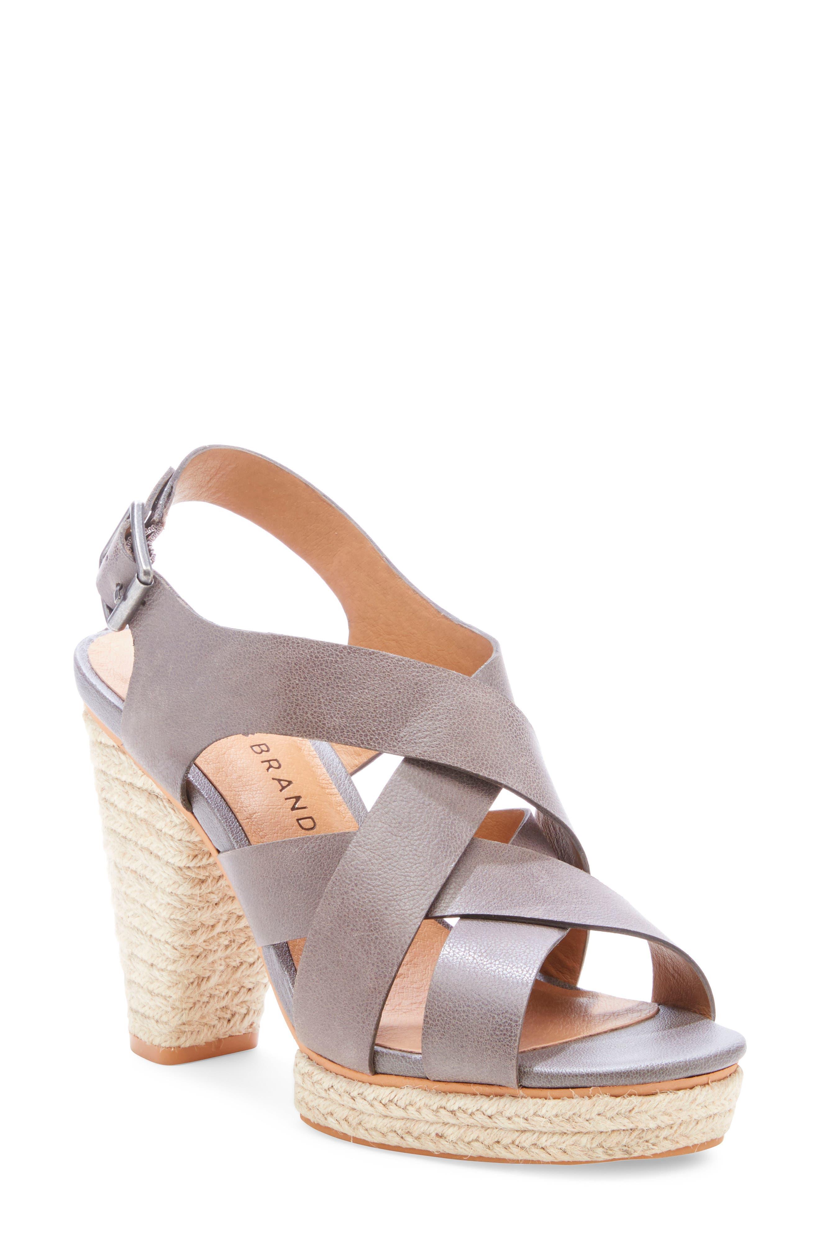 Lucky Brand Cabino Sandal- Grey