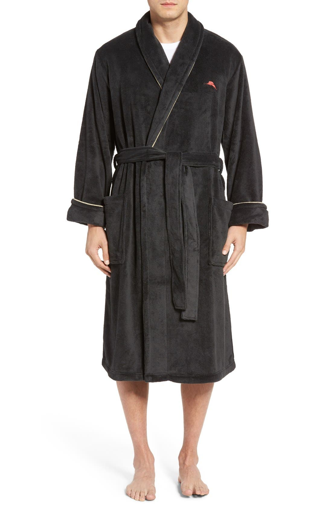 Tommy Bahama Men/'s Soft Plush Robe