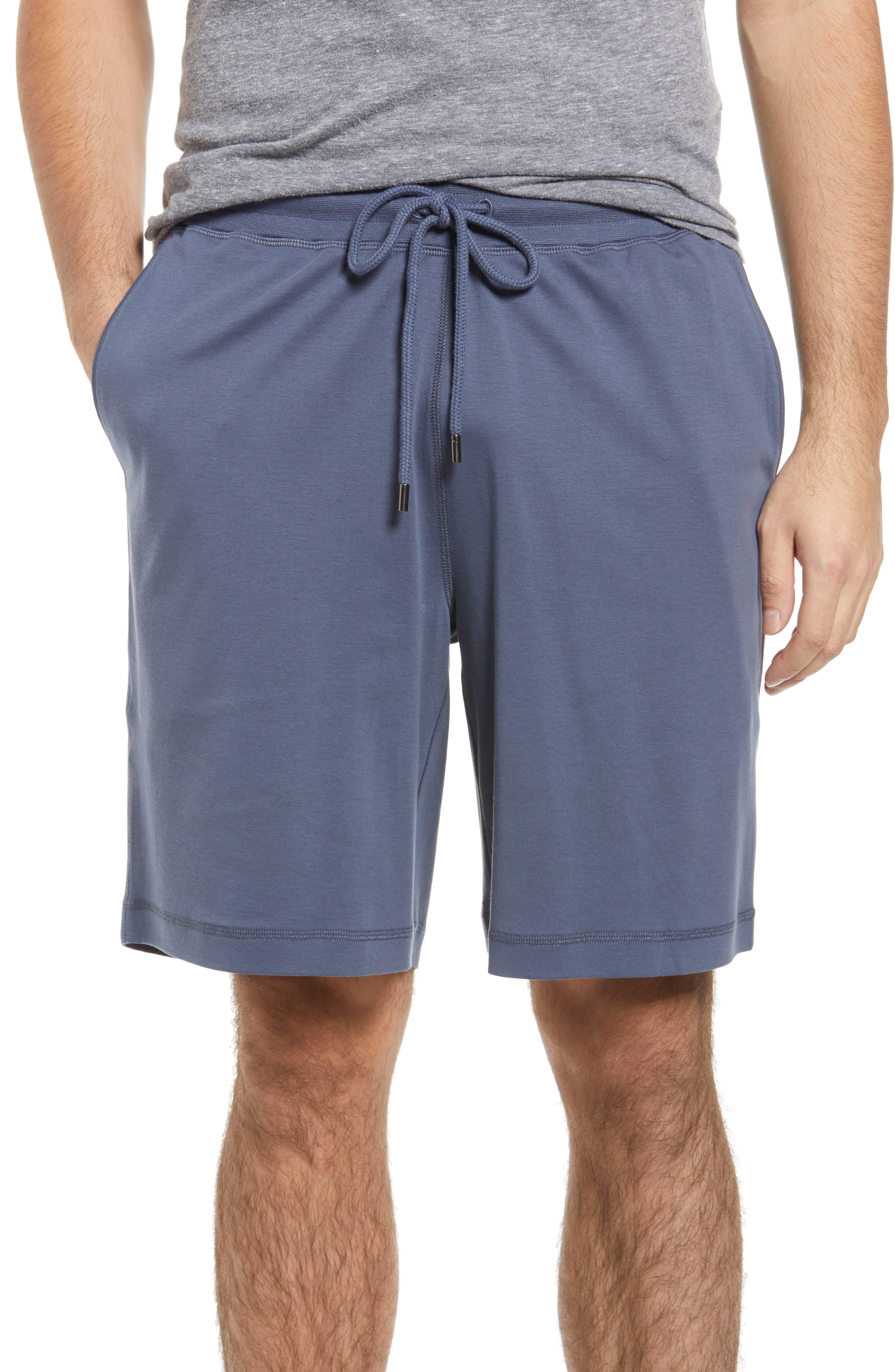 Men's Cotton & Silk Lounge Shorts