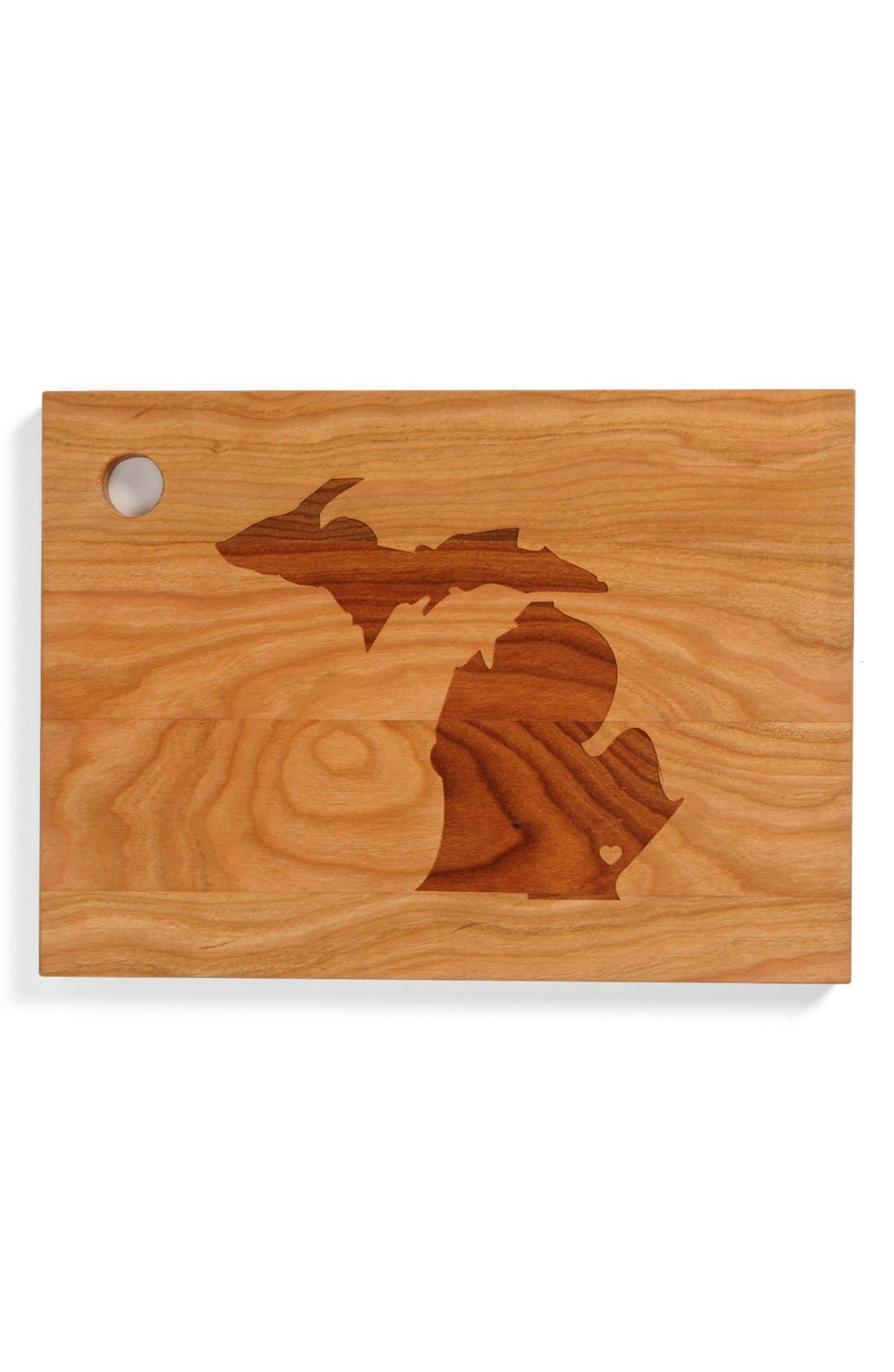 ,                             'State Silhouette' Cutting Board,                             Main thumbnail 24, color,                             221