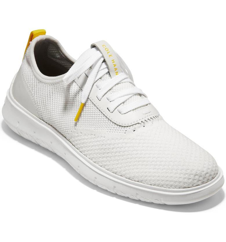COLE HAAN Generation ZeroGrand Stitchlite Sneaker, Main, color, WHITE/WHITE