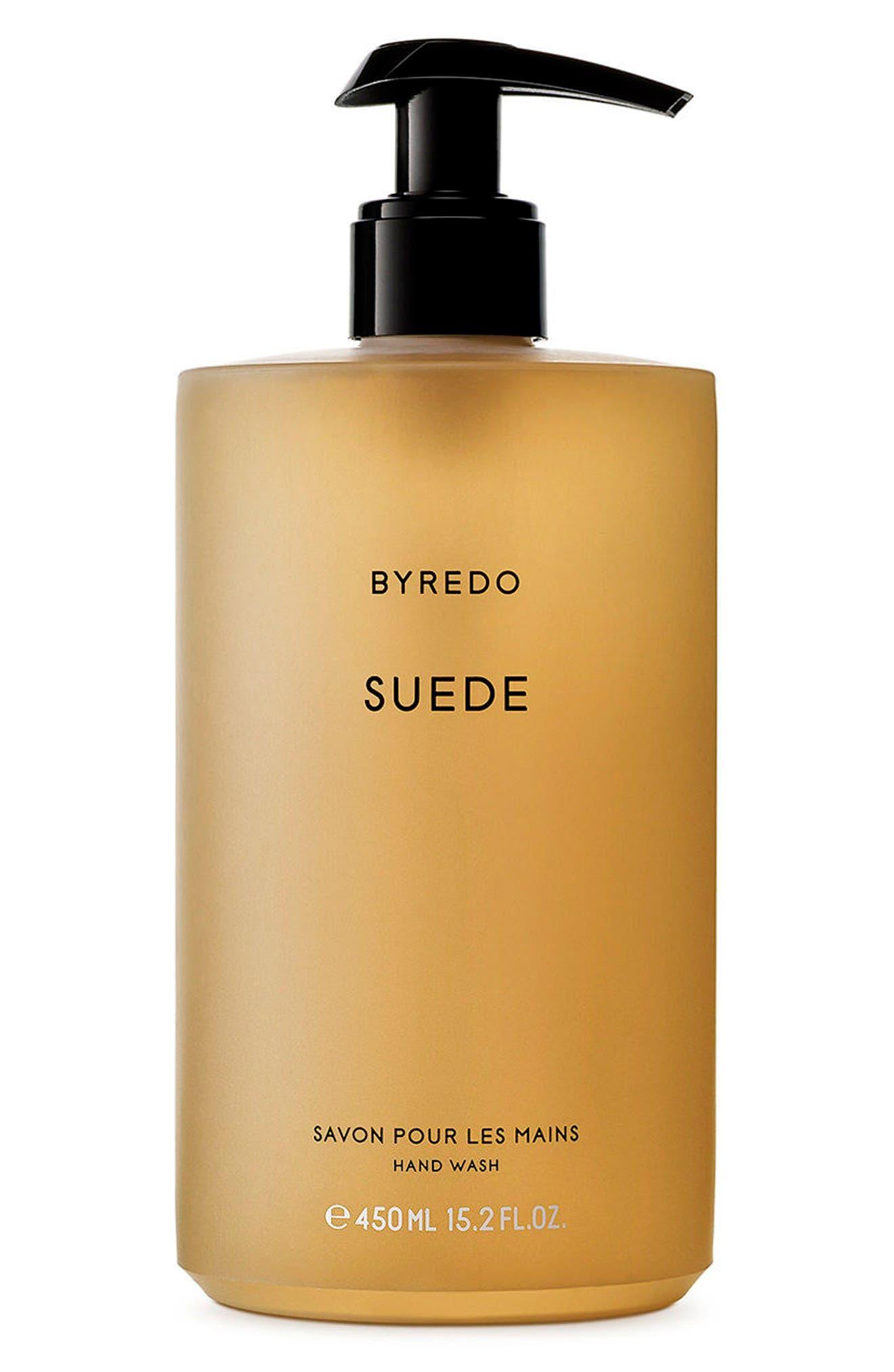 Suede Hand Wash, Main, color, NO COLOR
