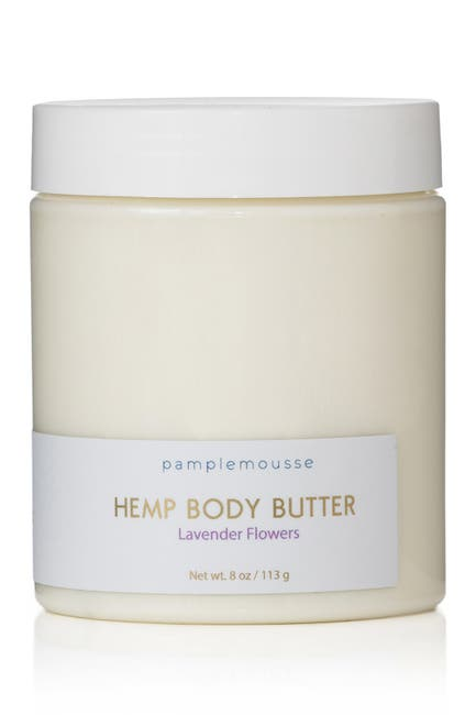 Image of Pamplemousse Hemp Body Butter - Lavender Flowers - 8 oz.