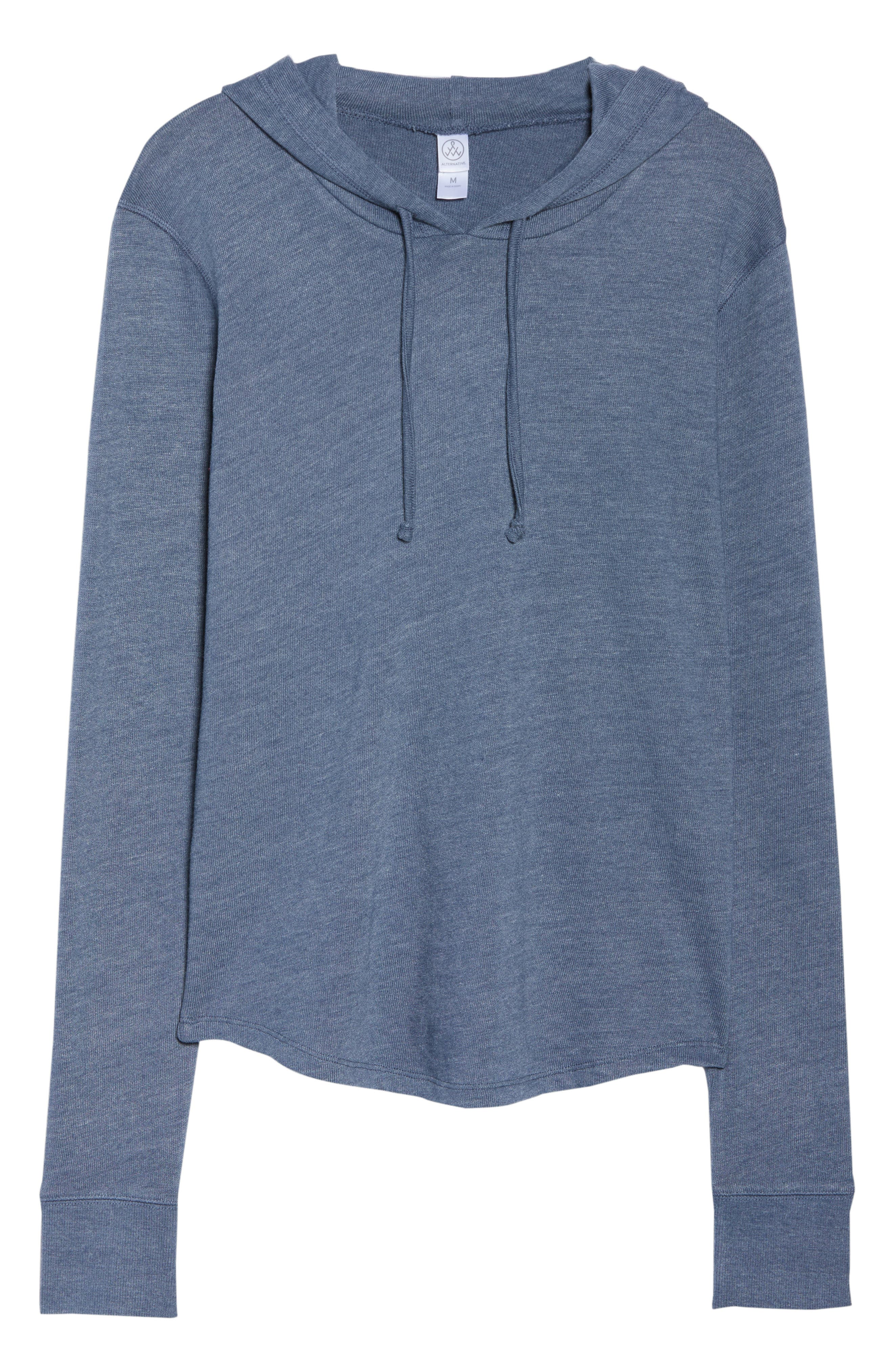 ,                             Cozy Pullover Hoodie,                             Alternate thumbnail 6, color,                             401