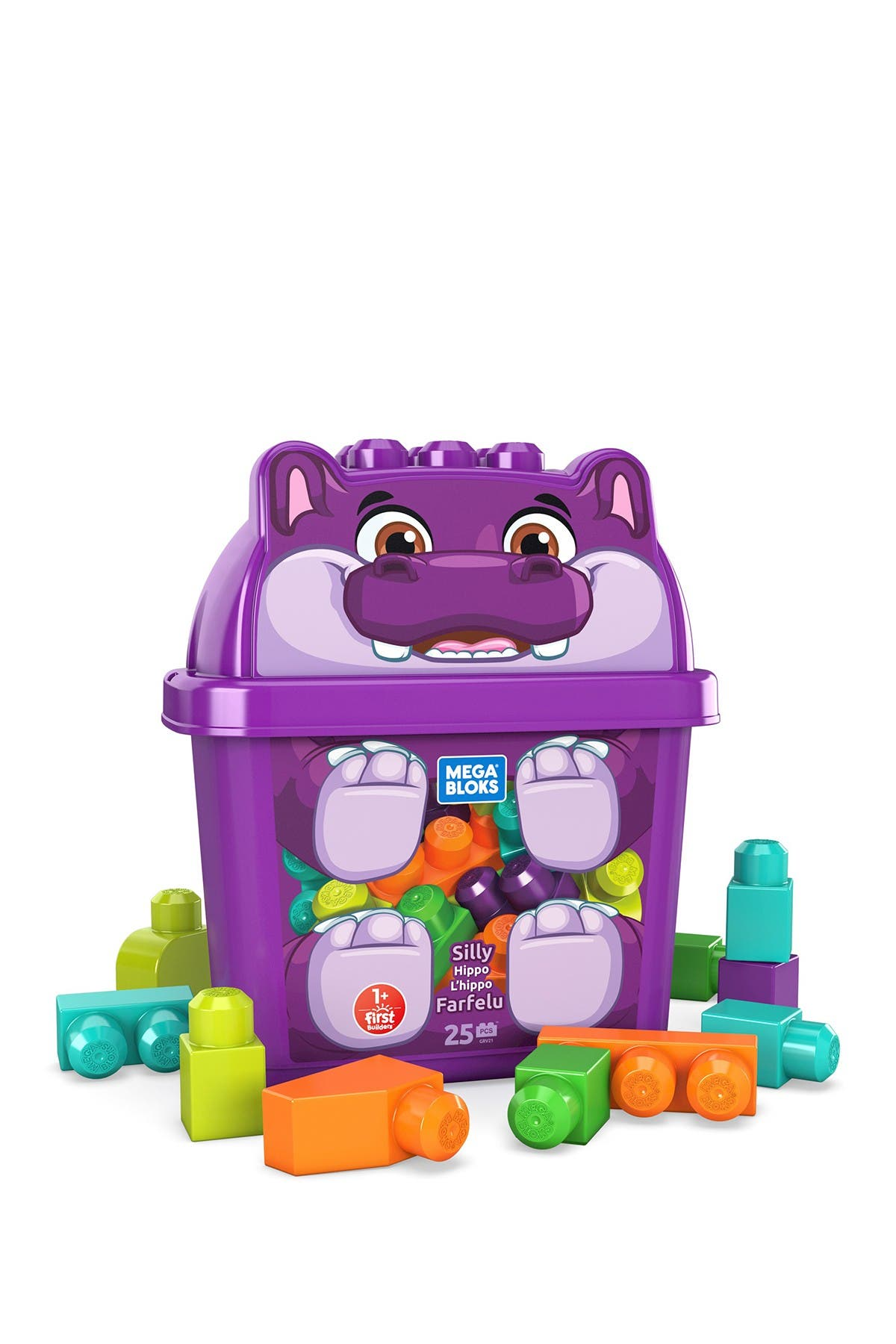 Image of Mattel Mega Bloks® Silly Hippo