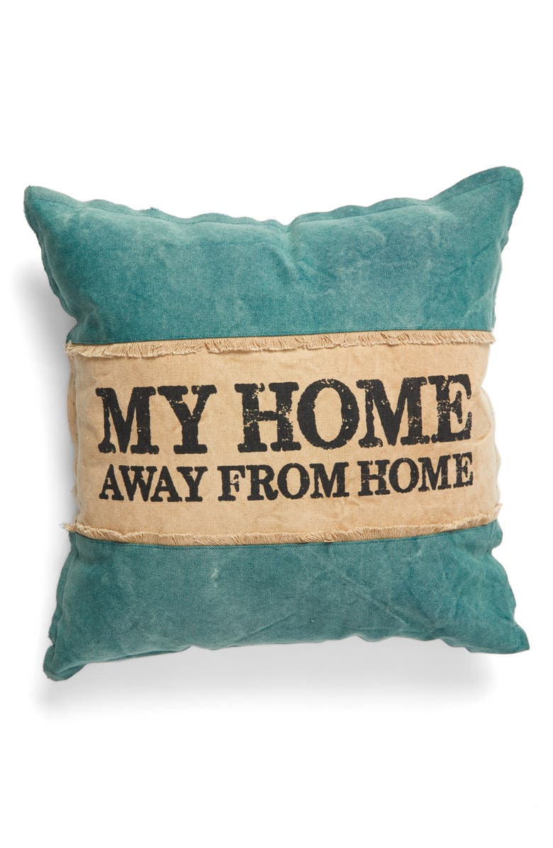 PRIMITIVES BY KATHY Home Away From Home Pillow, Main, color, 400