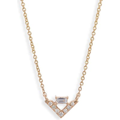 Dana Rebecca Designs Sadie Diamond Pendant Necklace