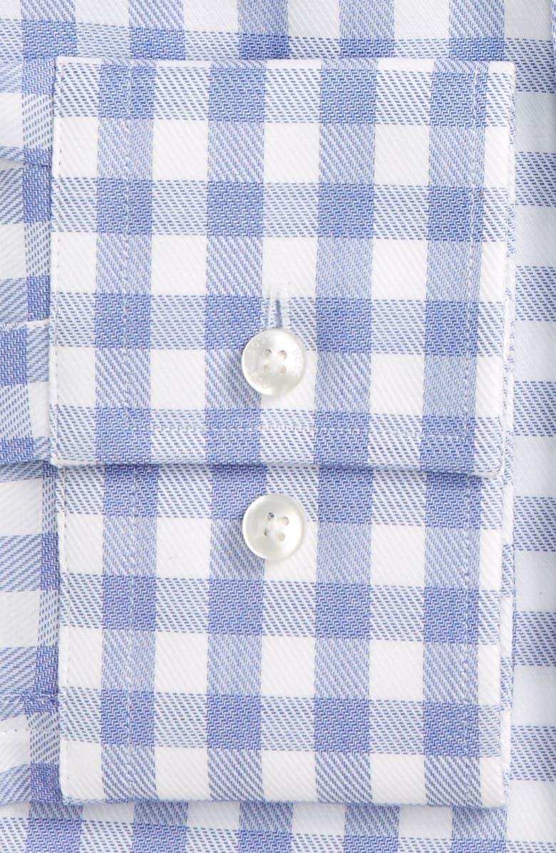 BOSS Jason Slim Fit Check Dress Shirt, Main, color, 421