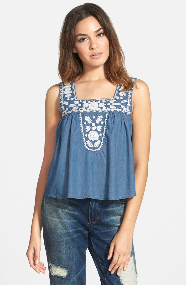 LOVERS + FRIENDS 'Dream Catcher' Babydoll Top, Main, color, 400