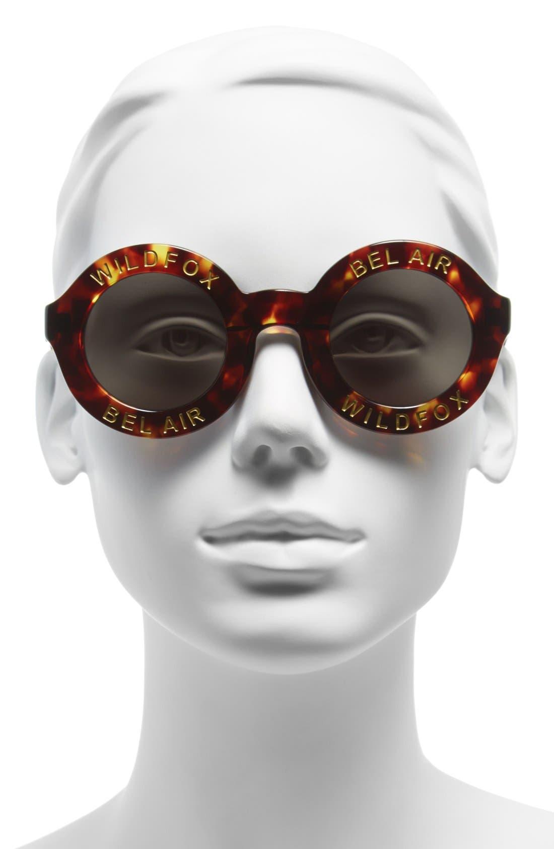 ,                             'Bel Air' 44mm Sunglasses,                             Alternate thumbnail 3, color,                             200