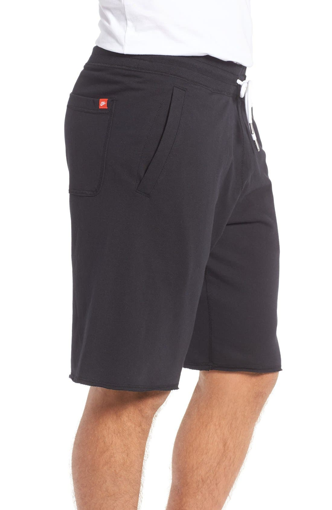 ,                             'NSW' Logo French Terry Shorts,                             Alternate thumbnail 13, color,                             010