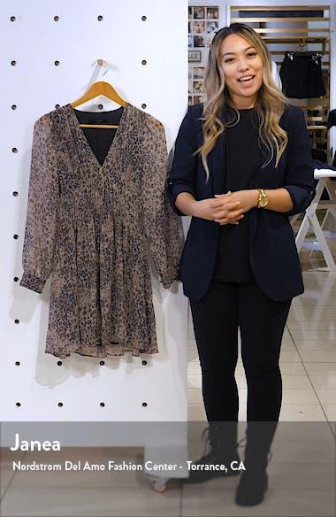 Kiana Long Sleeve Dress, sales video thumbnail