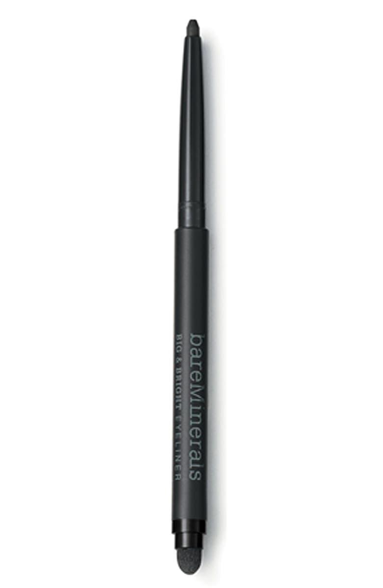 BAREMINERALS<SUP>®</SUP> Bare Escentuals<sup>®</sup> bareMinerals<sup>®</sup> 'Big & Bright' Eyeliner Pencil, Main, color, 001
