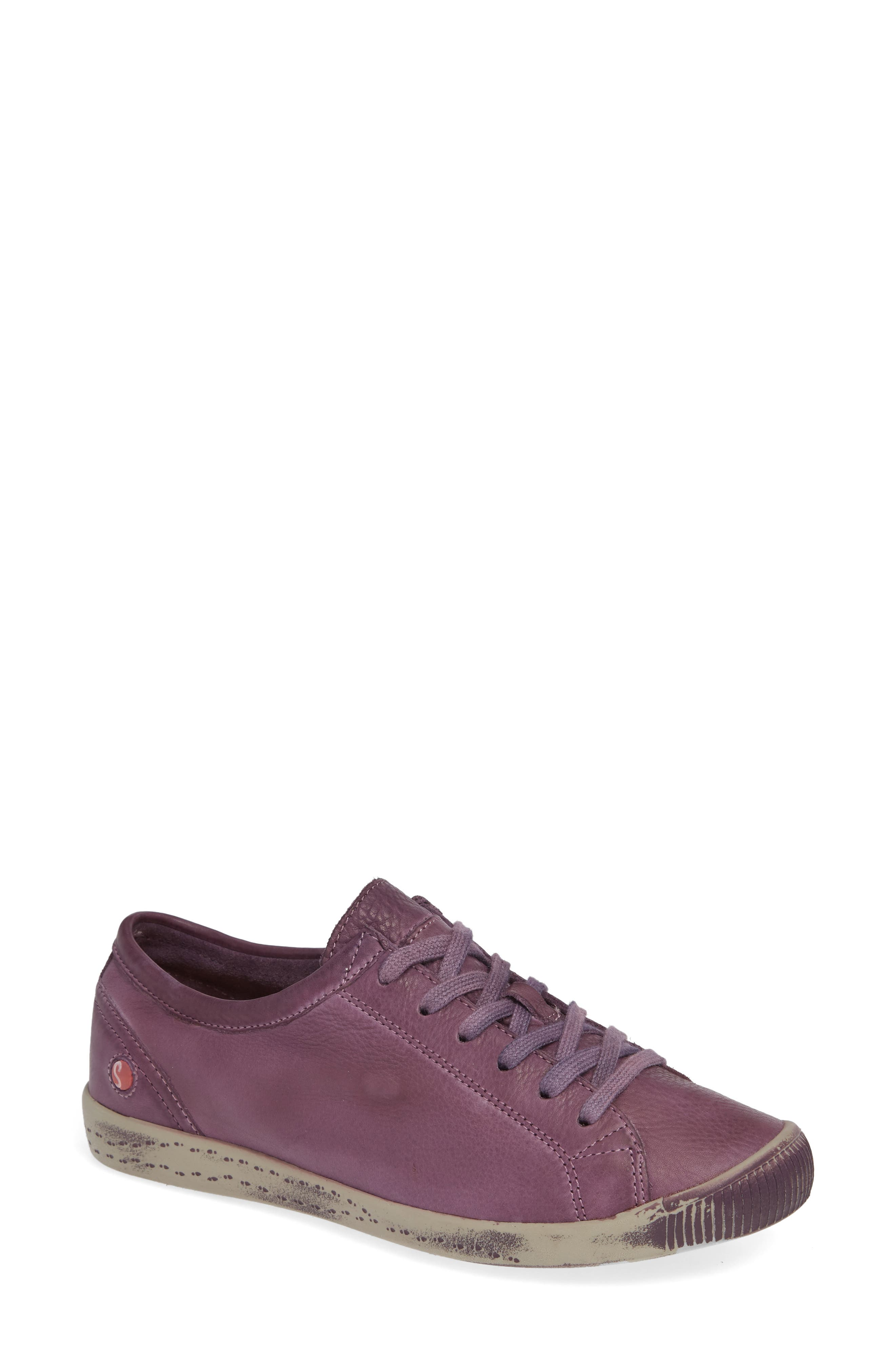 Softinos By Fly London Isla Distressed Sneaker - Purple