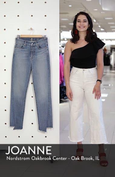 b880f9d581b 7 For All Mankind® Edie Splice Hem High Waist Ankle Jeans (Satellite ...