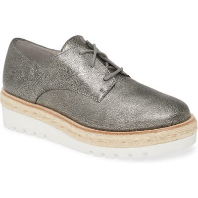 Eileen Fisher Everly Derby- Metallic