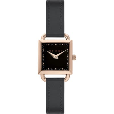 Ted Baker London Taliah Leather Strap Watch, 2m